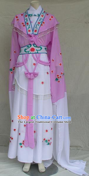 Professional Chinese Shaoxing Opera Princess Dress Ancient Traditional Peking Opera Young Lady Costume for Women