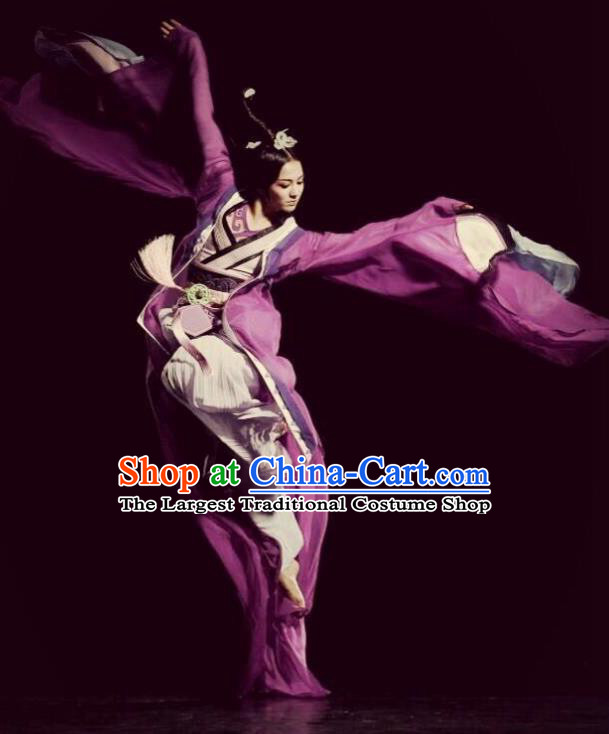 Traditional Chinese Classical Dance Luo Shen Zhen Fu Costume Stage Show Beautiful Dance Dress for Women