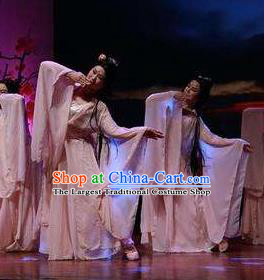 Traditional Chinese Classical Dance Competition Shan Gui Costume Stage Show Beautiful Dance Dress for Women