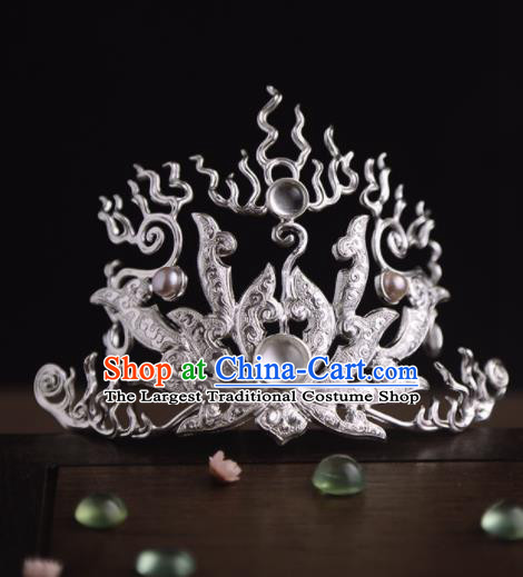 Chinese Ancient Princess Hair Crown Hairpins Traditional Hanfu Hair Accessories for Women