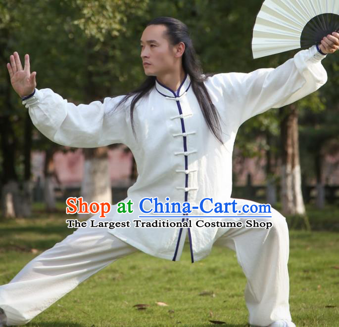 Chinese Traditional Martial Arts Costumes Kung Fu Tai Chi Competition Clothing for Men