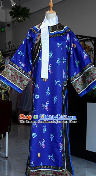 Chinese Ancient Drama Queen Costumes Traditional Qing Dynasty Imperial Consort Dress for Women