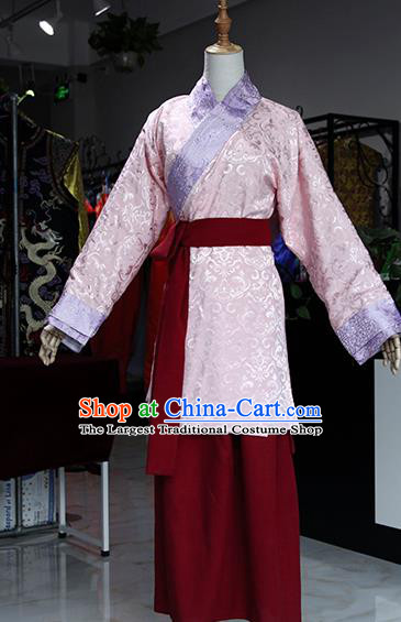 Chinese Ancient Drama Maidservants Costumes Traditional Song Dynasty Water Margin Sun Erniang Dress for Women