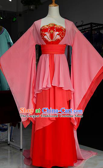 Chinese Ancient Drama Court Maid Costumes Traditional Tang Dynasty Imperial Consort Dress for Women