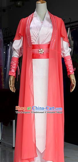 Chinese Ancient Drama Female Swordsman Costumes Traditional Ming Dynasty Imperial Bodyguard Dress for Women