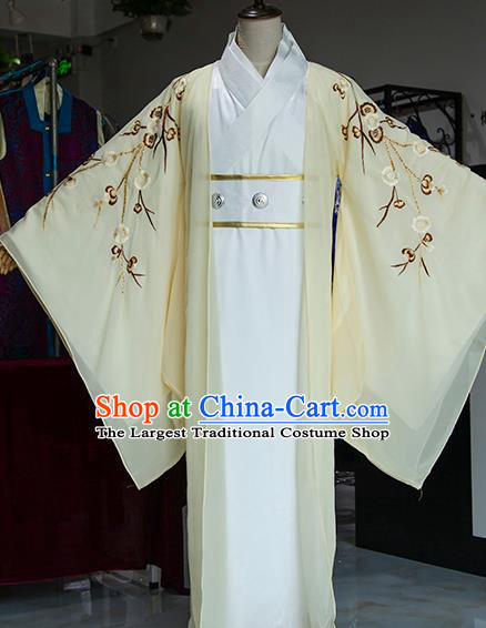 Chinese Ancient Drama Prince Costumes Traditional Han Dynasty Swordsman Clothing for Men
