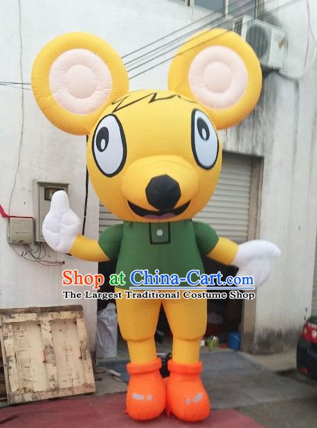 Chinese New Year Decorations Giant Inflatable Rat Complete Set