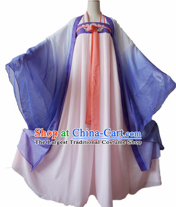 Chinese Traditional Cosplay Princess Pink Dress Custom Ancient Imperial Consort Costume for Women
