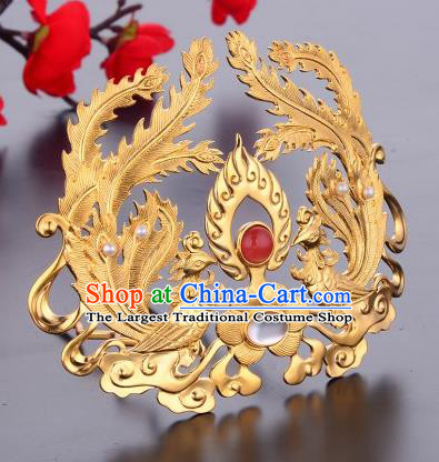 Ancient Chinese Tang Dynasty Phoenix Hairpins Traditional Hanfu Court Hair Accessories for Women