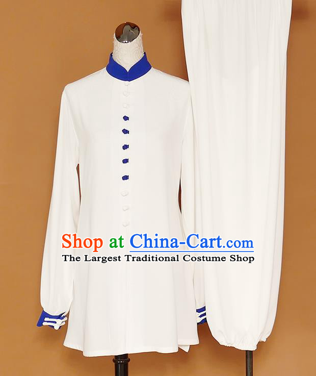 Chinese Professional Martial Arts Costume Traditional Kung Fu Competition Tai Chi Clothing for Women