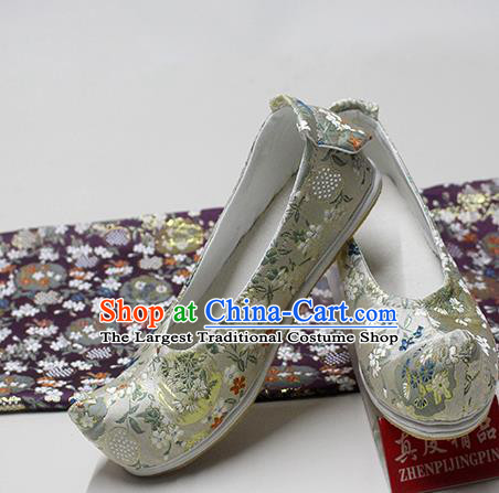Traditional Chinese Blood Stained Shoes Handmade Hanfu Shoes Ancient Princess Shoes for Women