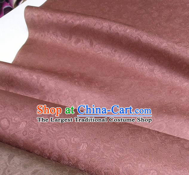 Asian Chinese Traditional Pattern Design Garnet Red Brocade Silk Fabric China Hanfu Satin Material