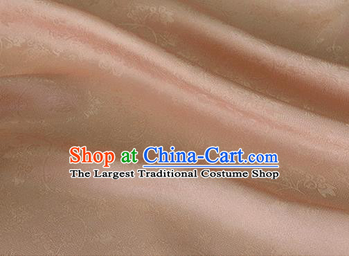 Asian Chinese Traditional Twine Albizia Pattern Design Pink Silk Fabric Chinese Qipao Material