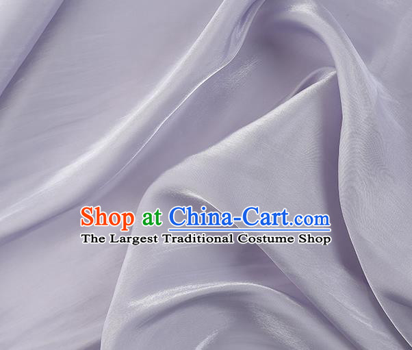 Chinese Traditional Classical Pattern Design Lilac Imitated Silk Fabric Asian China Cheongsam Silk Material