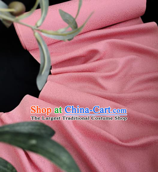 Chinese Traditional Classical Pattern Design Pink Silk Fabric Asian China Cheongsam Silk Material