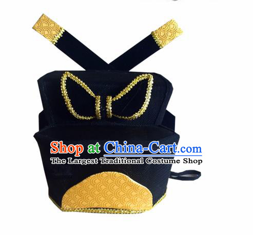Chinese Traditional Song Dynasty Crown Prince Hat Ancient Scholar Headwear for Men