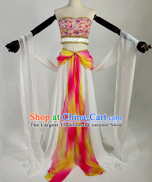 Chinese Traditional Classical Dance Dress Ancient Tang Dynasty Court Lady Costumes for Women