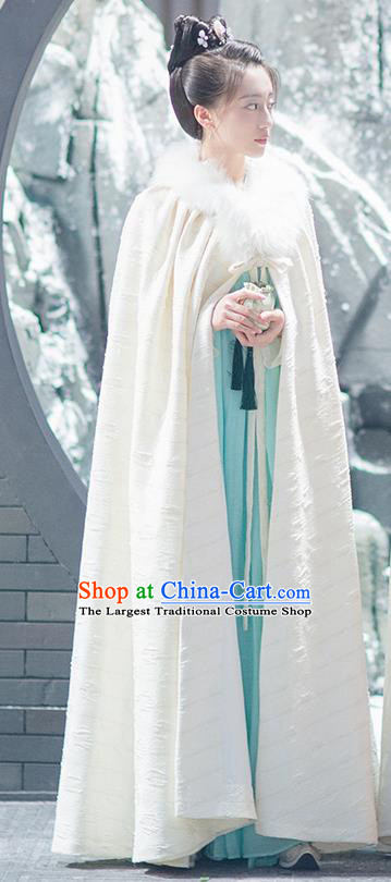 Chinese Ancient Tang Dynasty Princess Drama Good Bye My Princess Luo Xi Replica Costumes for Women