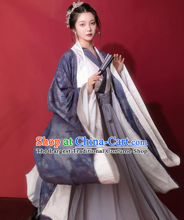 Chinese Ancient Hanfu Dress Traditional Ming Dynasty Princess Costumes for Women