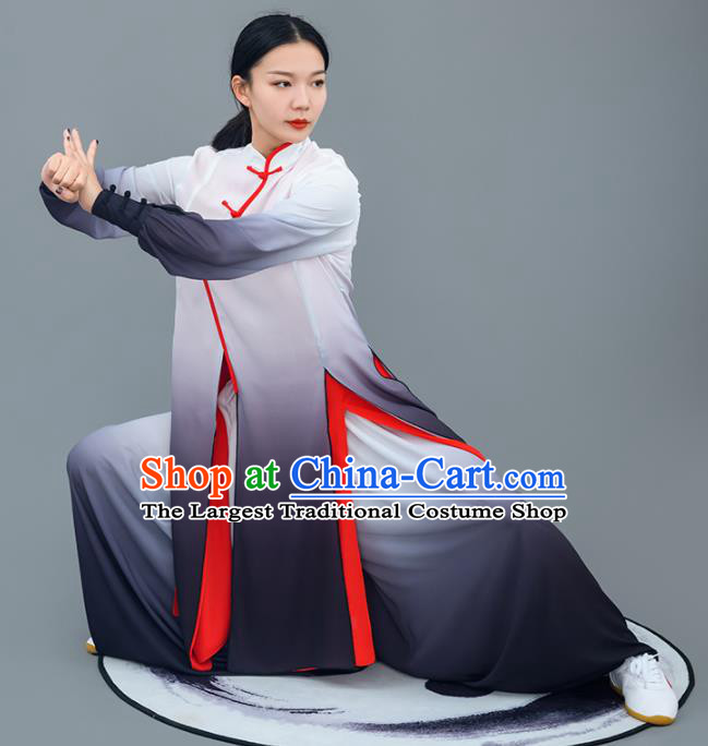 Chinese Traditional Tai Chi Training Costumes Martial Arts Performance Outfits for Women