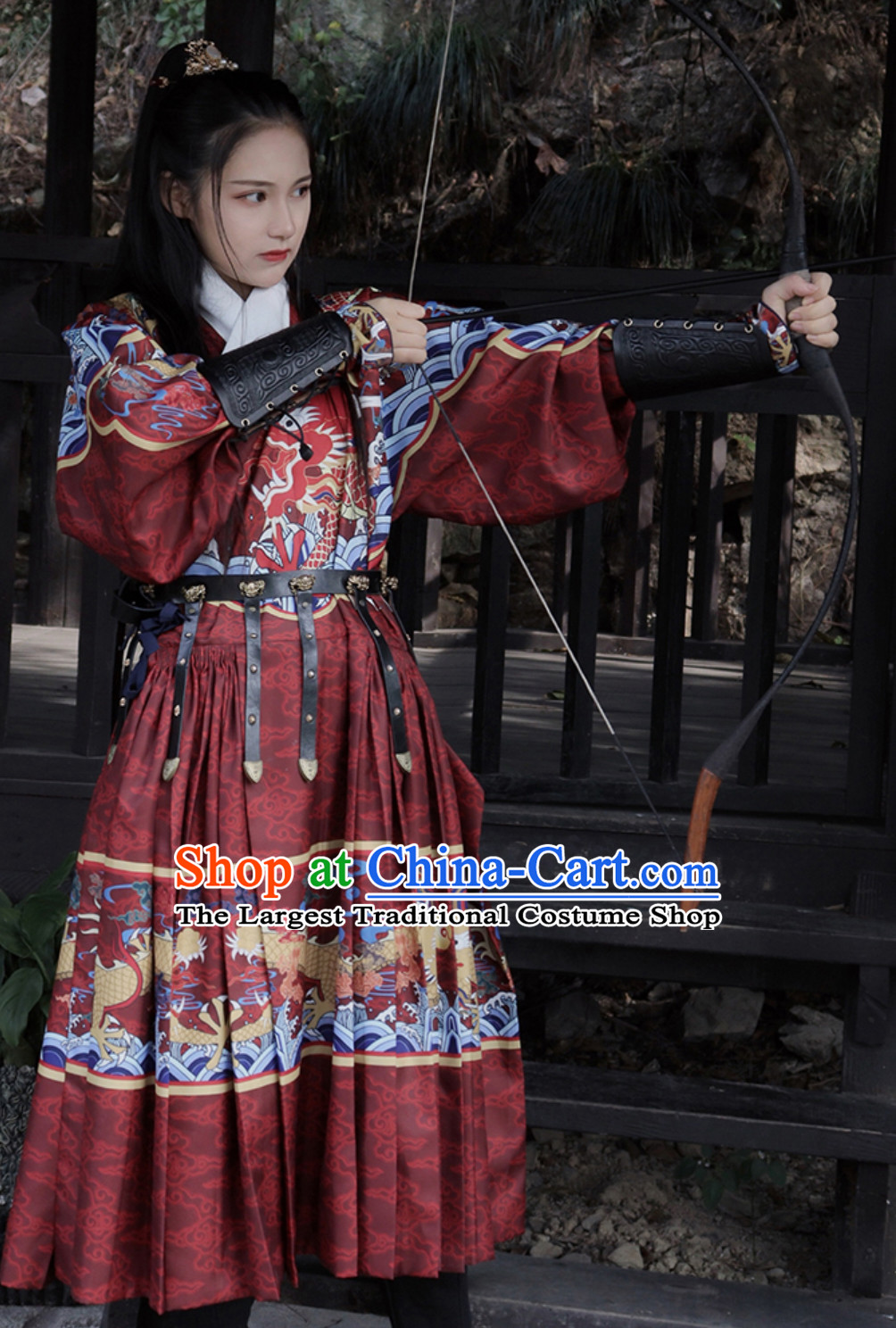 Top Ancient Chinese Ming Dynasty Palace Emperor Embroidered Garment Dresses
