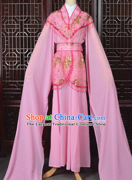 Chinese Traditional Beijing Opera Hua Dan Pink Dress Peking Opera Diva Costumes for Women