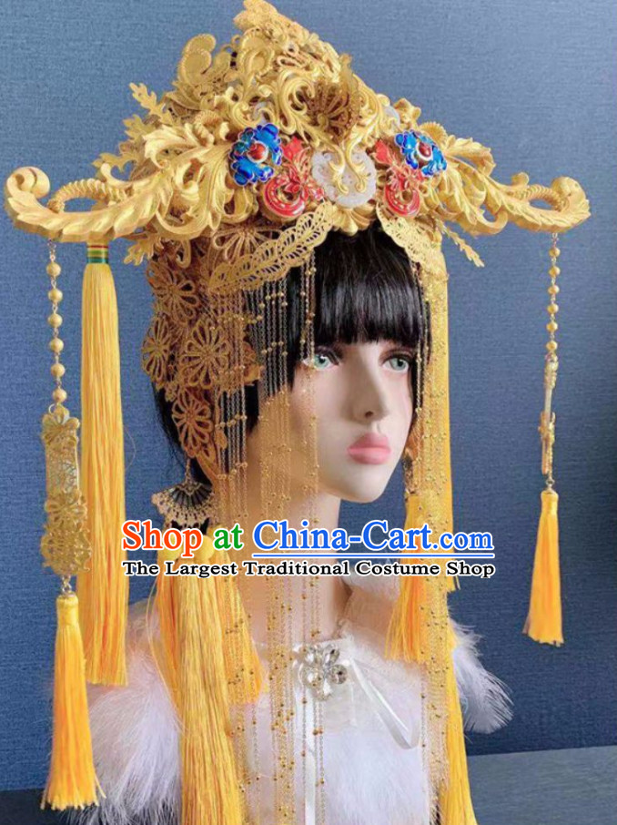 Ancient China Princess Hair Ornaments Chinese Queen Hairstyle Hair Jewelry Hair Pieces