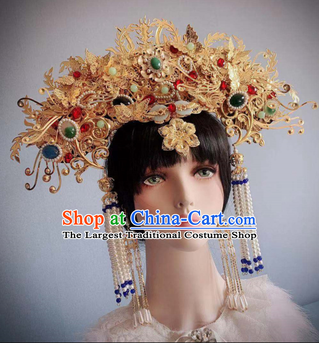 Ancient China Palace Princess Hair Ornaments Chinese Queen Hairstyle Hair Jewelry Hair Pieces