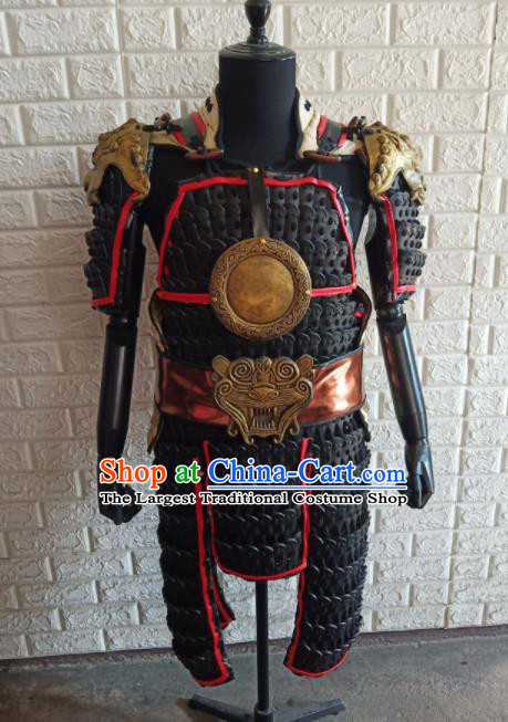 Chinese Handmade Traditional Body Armor Ancient General Costume for Men