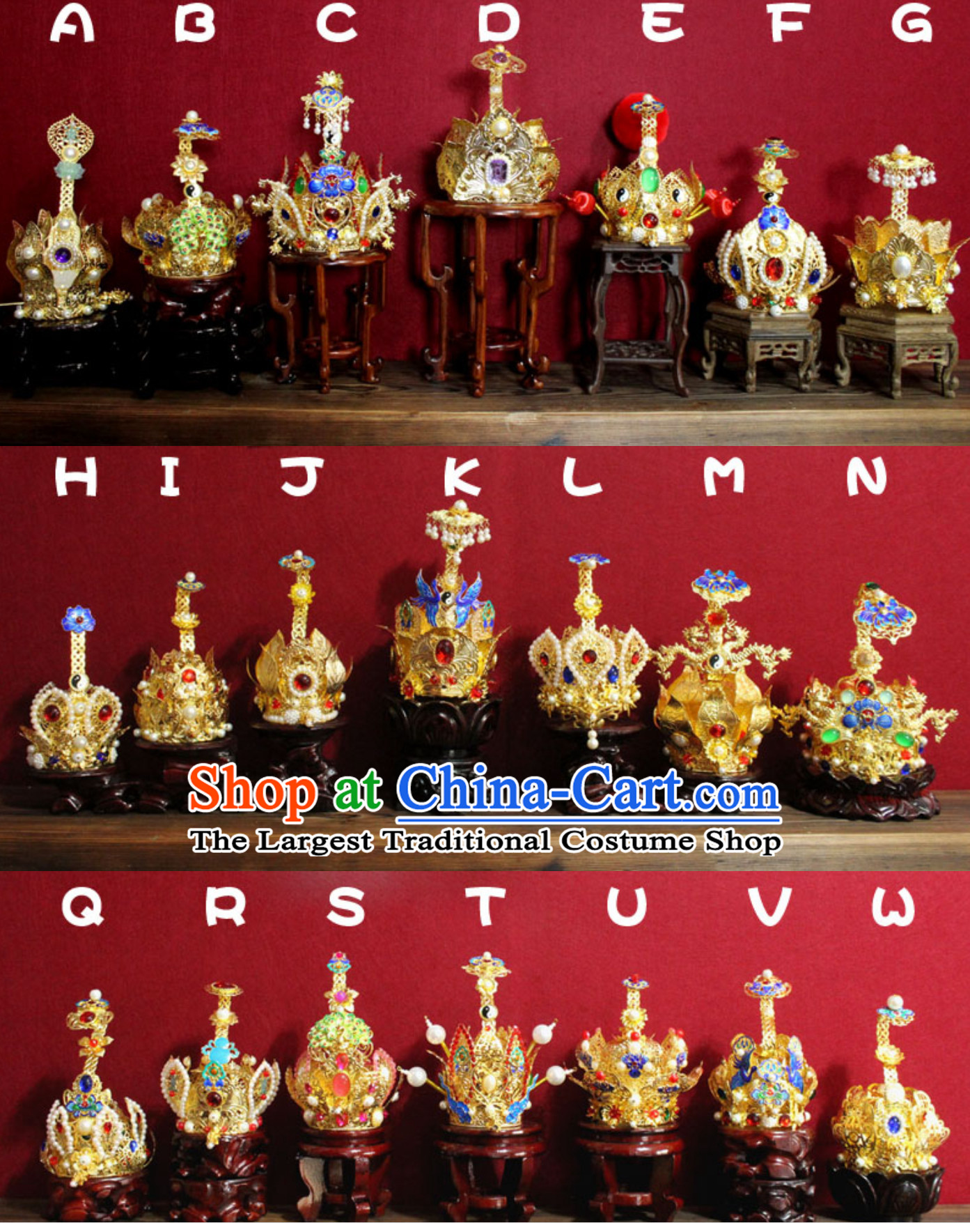 Traditional Chinese Crown Classical Tower Headdress Handmade China Hat