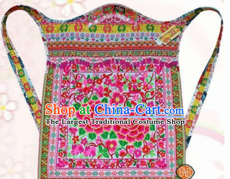 Hmong Clothing Miao Tribe Traditional Baby Carriage Arts
