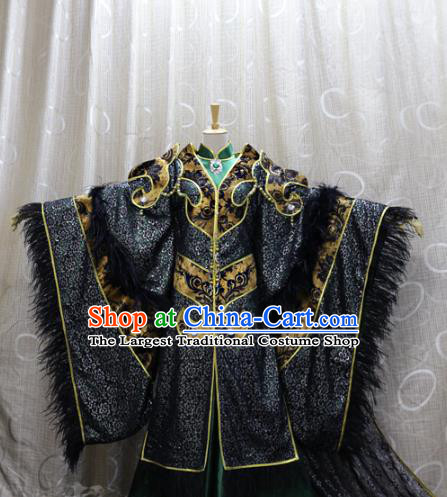 Traditional Cosplay Devil King Ye Xiaochai Costumes Custom China Ancient Swordsman Lord Clothing