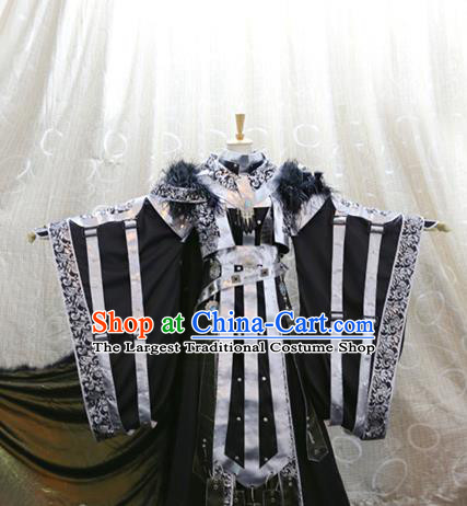 Cosplay Chivalrous Man Costumes Custom China Ancient Swordsman Clothing