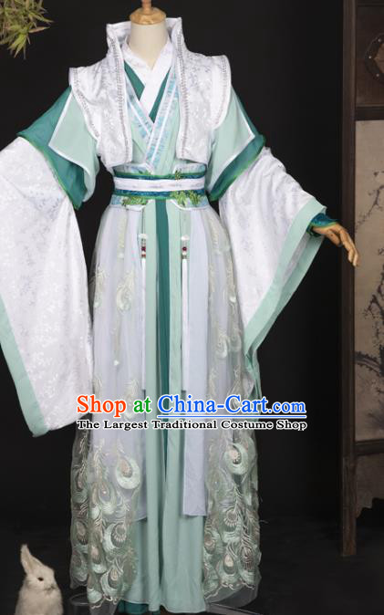 Cosplay Chinese Ancient Swordsman Clothing Noble Childe Costumes for Men
