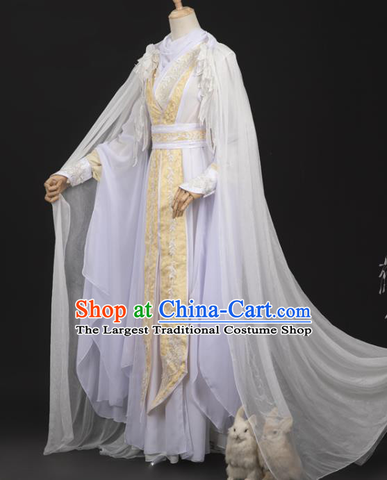 Cosplay Chinese Ancient Royal Prince Clothing Ming Dynasty Swordsman Costumes with Cape