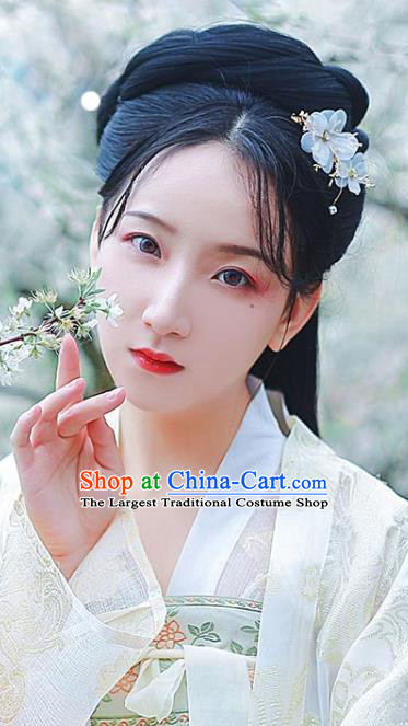 Chinese Ming Dynasty Noble Female Wigs Chignon Quality Wigs China Best Wig Ancient Young Lady Hairpiece
