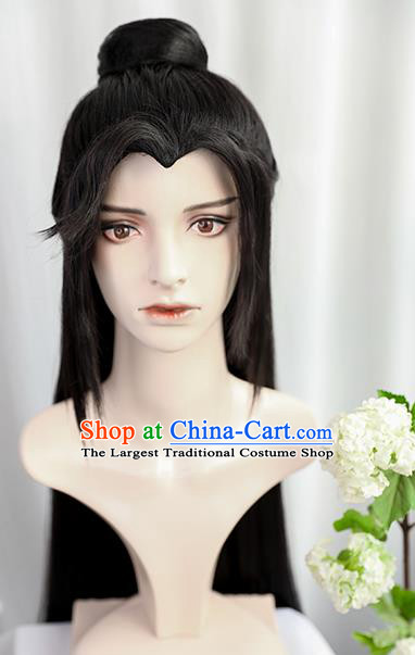 Best Chinese Drama Ancient Knight Wig Sheath China Quality Front Lace Wigs Cosplay Swordsman Luo Binghe Wig