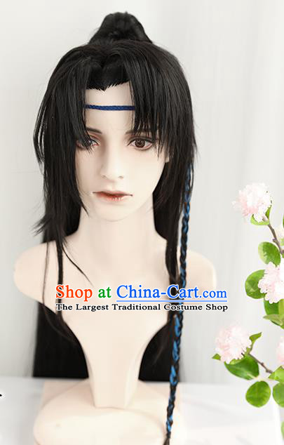 Best Chinese Cosplay Knight Wig Sheath China Quality Wigs Ancient Swordsman Xiao Ce an Wig