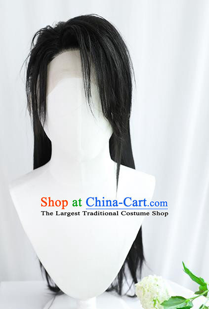 Best Chinese Drama Cosplay Swordsman Wig Sheath China Quality Front Lace Wigs Ancient Prince Wig