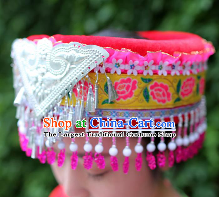 Best Chinese Miao Nationality Headwear Top Quality China Ethnic Women Hat