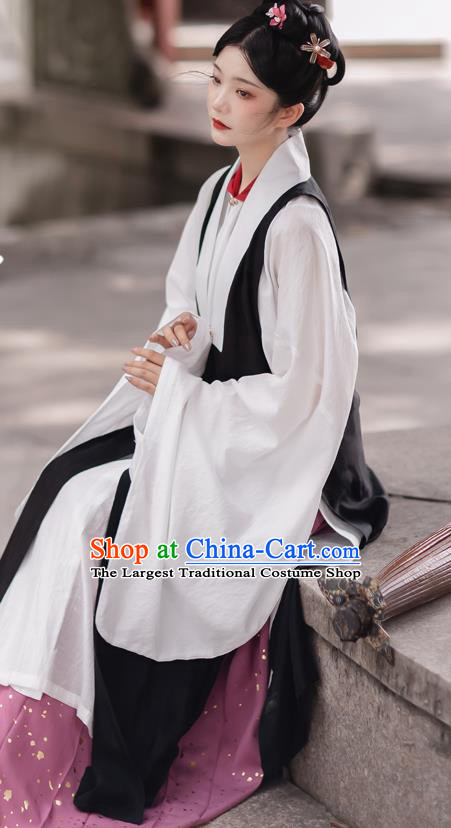 China Traditional Costumes Ming Dynasty Imperial Countess Historical Clothing Ancient Court Woman Hanfu Dress