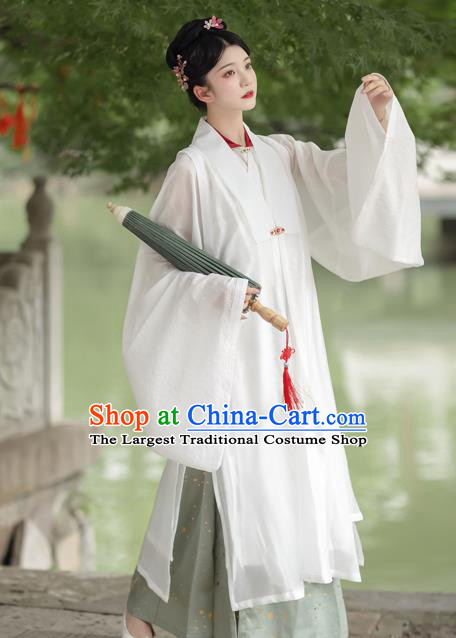 China Traditional Ming Dynasty Historical Clothing Hanfu Dress Ancient Imperial Countess Costumes