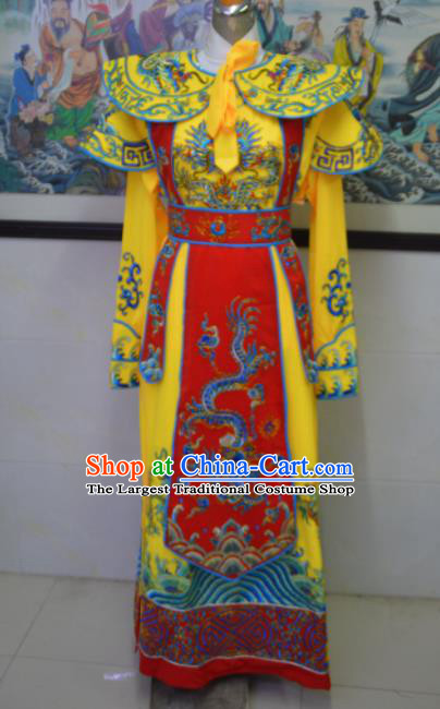 Chinese Traditional Peking Opera Scholar Embroidered Costume Ancient Crown Prince Clothing for Men