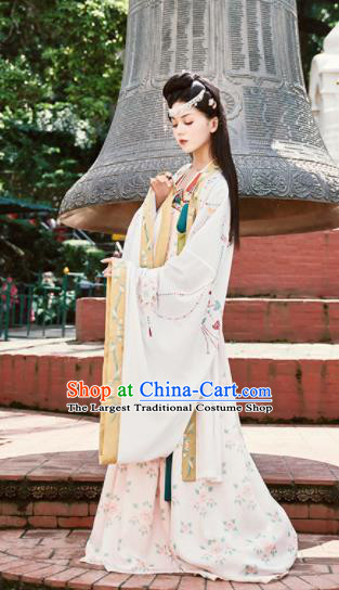 Chinese Ancient Drama Imperial Consort Hanfu Dress Traditional Tang Dynasty Palace Lady Costumes for Women