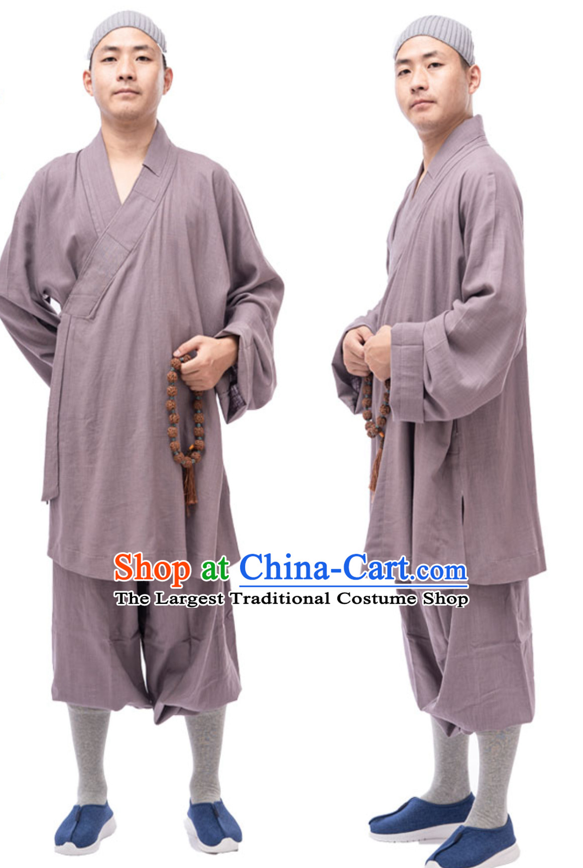 Ancient Chinese Style Monk Dresses Monk Garment for Men