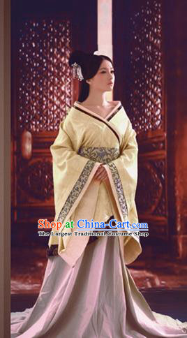 Chinese Ancient Royal Infanta Hanfu Dress Traditional Han Dynasty Imperial Consort Costumes for Women