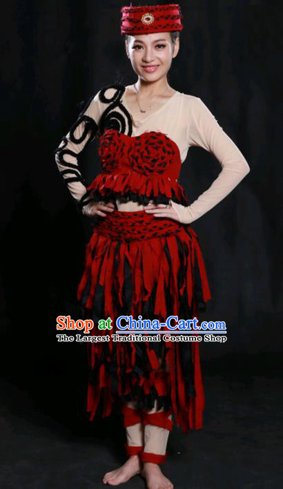 Chinese Spring Festival Gala Modern Dance Short Dress Traditional Fan Dance Compere Costume for Women