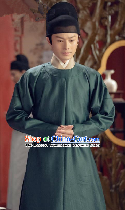 Drama Royal Nirvana Traditional Chinese Ancient Royal Prince of Zhao Xiao Dingkai Costumes and Hat for Men