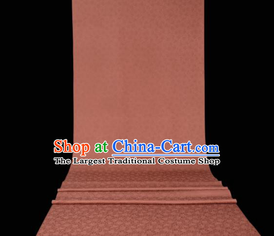 Chinese Classical Plant Pattern Design Deep Pink Mulberry Silk Fabric Asian Traditional Cheongsam Silk Material