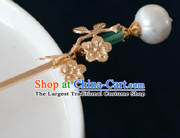 Chinese Handmade Ming Dynasty Queen Dragonfly Hairpins Ancient Hanfu Hair Accessories for Women